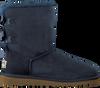 UGG Bottes fourrure BAILEY BOW en bleu - small