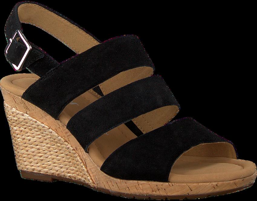 GABOR Sandales 825.1 en noir  - larger