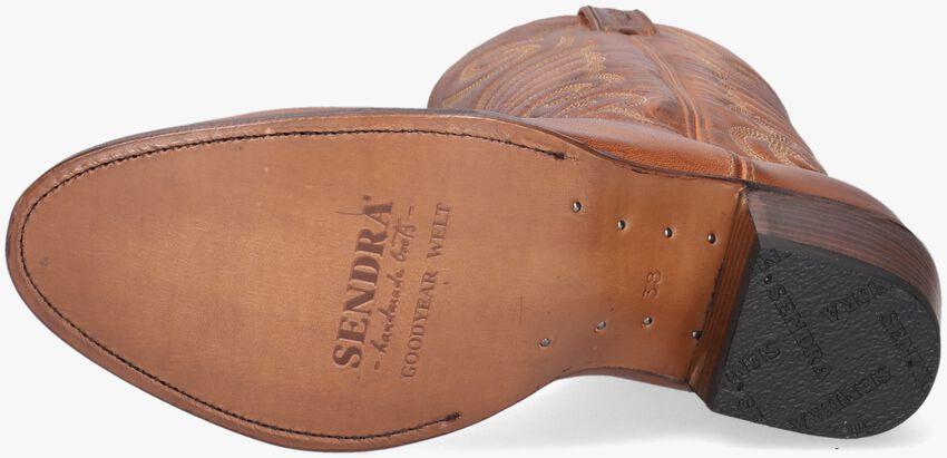 SENDRA Santiags 11627 en cognac - larger