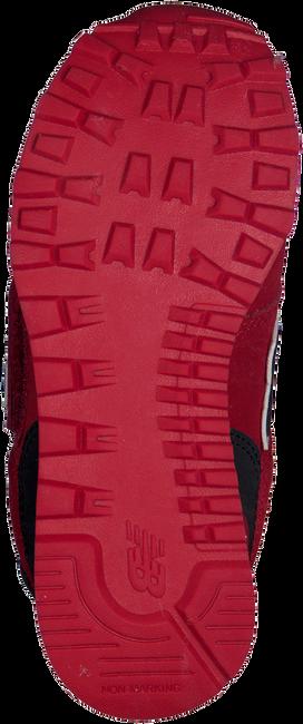 NEW BALANCE Baskets KV574 en rouge - large