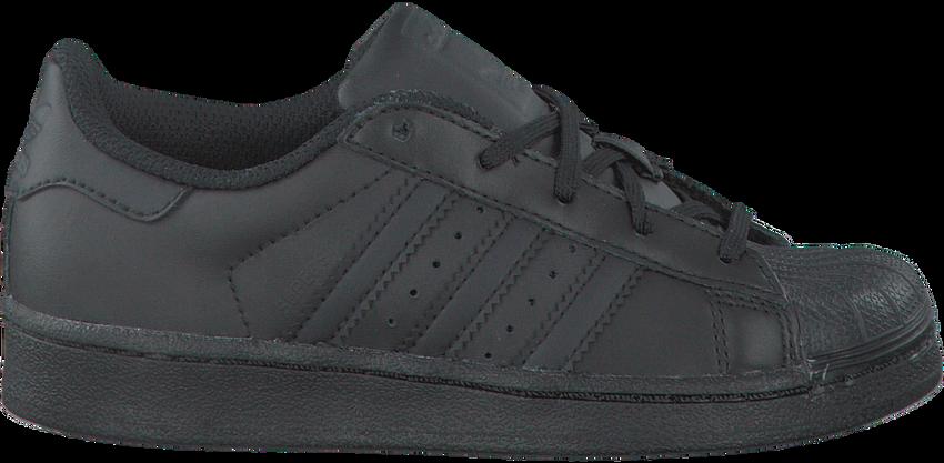 Zwarte ADIDAS Sneakers SUPERSTAR KIDS  - larger