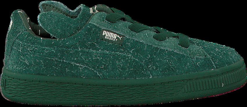 Groene PUMA Sneakers PUMA X TC BASKET FURRY  - larger
