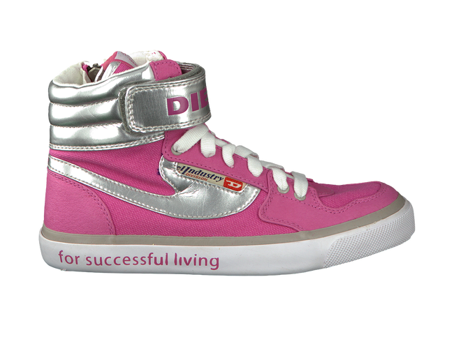 Roze DIESEL Sneakers REVOLUTION CLAW  - large