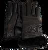 UGG Gants CLASSIC LEATHER LOGO GLOVE en noir - small