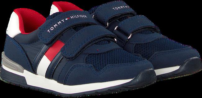 TOMMY HILFIGER Baskets 30481 en bleu  - large
