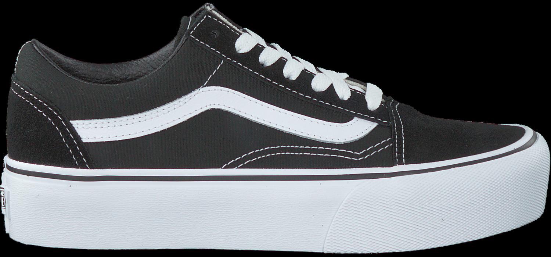 vans old skool platform - dames schoenen