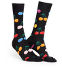 Zwarte HAPPY SOCKS Sokken CHERRY - small