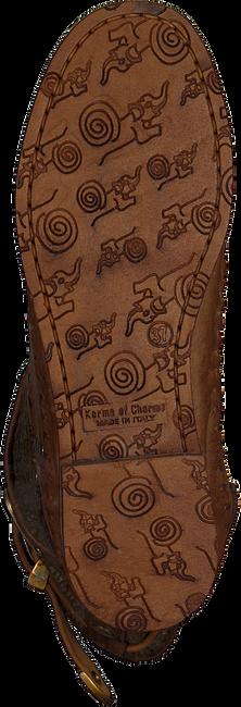 KARMA OF CHARME Bottes hautes TRICOT 2 en cognac - large