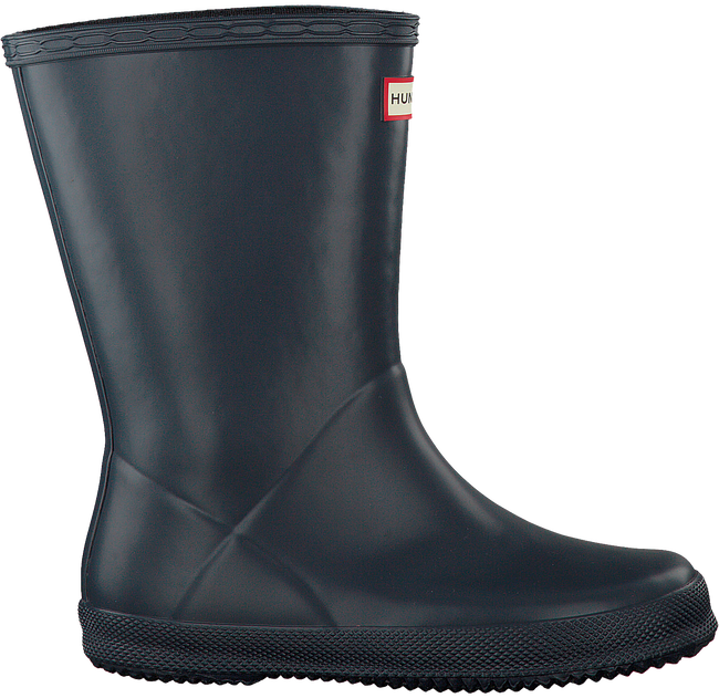 HUNTER Bottes en caoutchouc KIDS FIRST CLASSIC en bleu - large
