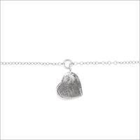 Zilveren ALLTHELUCKINTHEWORLD Armband FORTUNE BRACELET HEART - medium