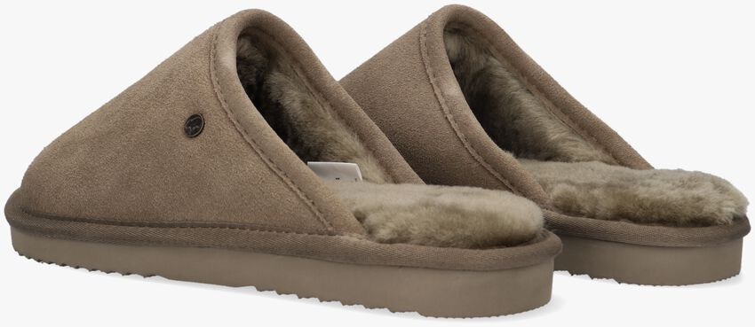 Groene WARMBAT Pantoffels CLASSIC UNISEX SUEDE  - larger