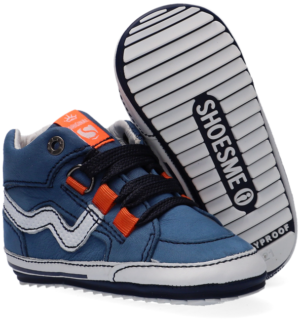 Blauwe SHOESME Babyschoenen BP21S055 - large