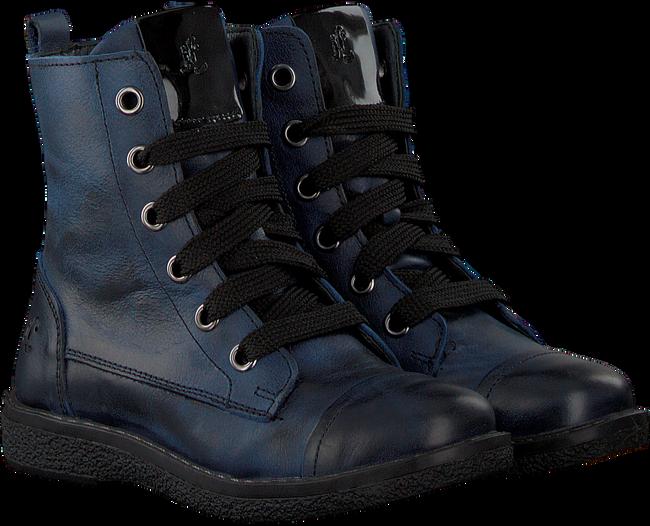 OMODA Bottines à lacets 18999 en bleu - large