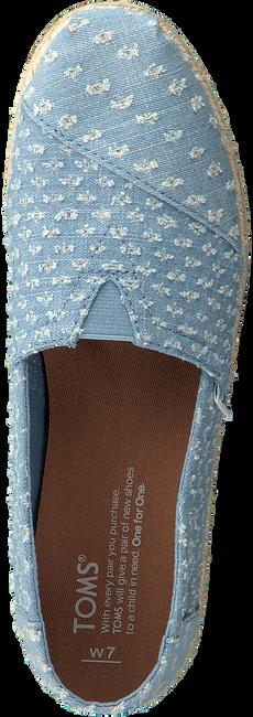 Blauwe TOMS Espadrilles ALPARGATA W  - large
