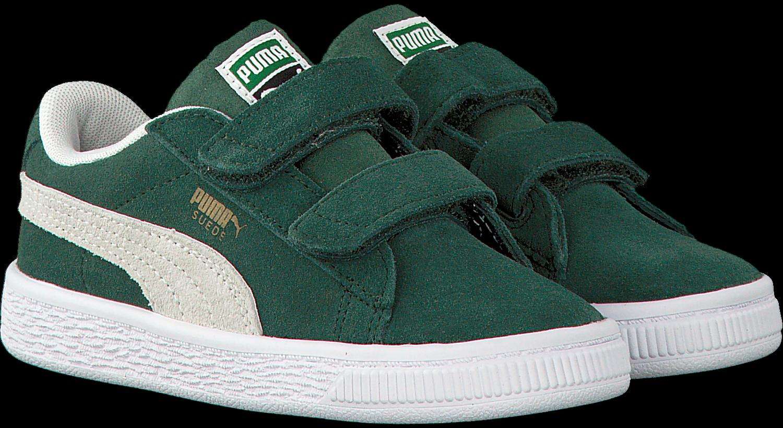 e302d5dfb65 Groene PUMA Sneakers SUEDE CLASSIC INF - Omoda.be
