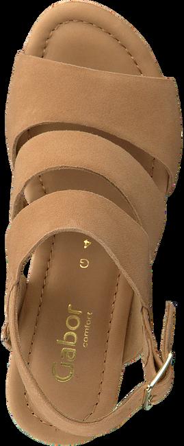 GABOR Sandales 825.1 en marron  - large