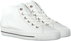 PAUL GREEN Baskets montantes 473-016 en blanc  - small