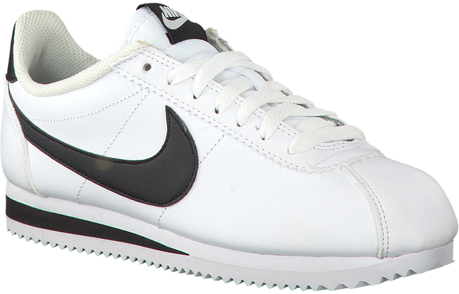 a7e876c50ea Leather Classic Cortez Wmns Sneakers Omoda Witte Nike be x8wEn