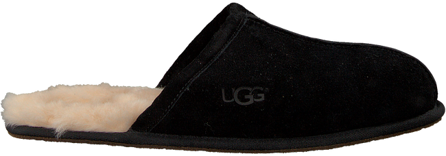 UGG Chaussons SCUFF en noir - large