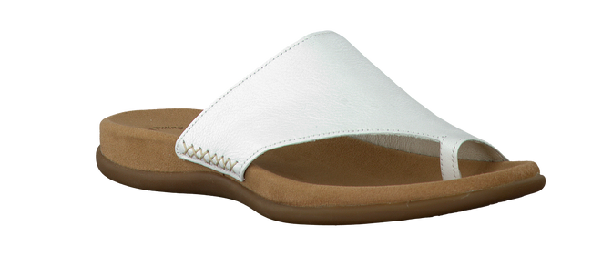 GABOR Tongs 700 en blanc  - large