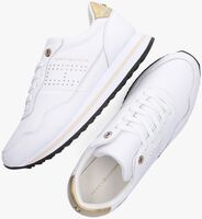 Witte TOMMY HILFIGER Lage sneakers LIFESTYLE RUNNER  - medium