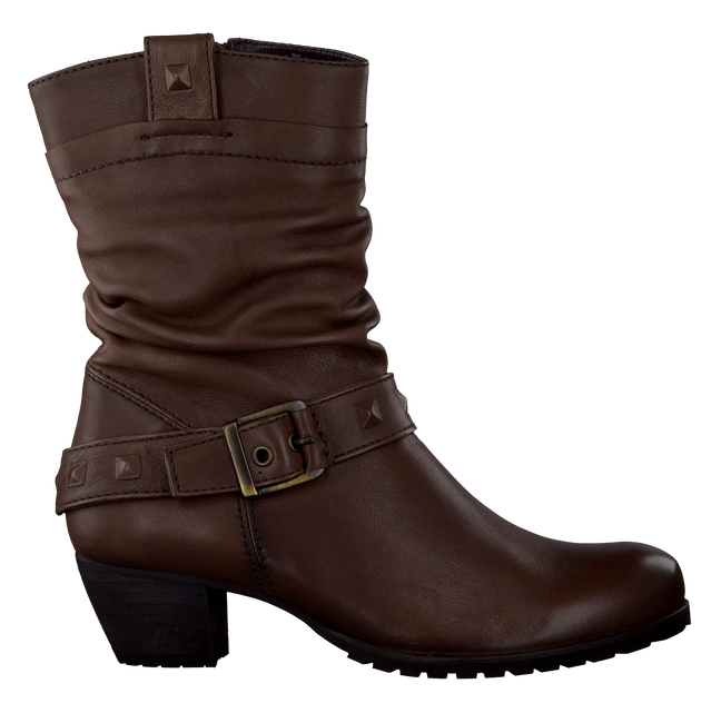 FOOTNOTES Bottes hautes 35.344 en marron - large