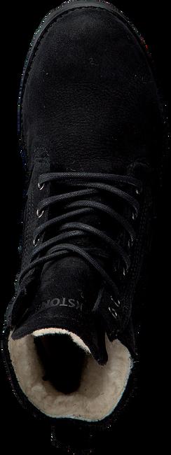 BLACKSTONE Bottines à lacets OL22 en noir - large