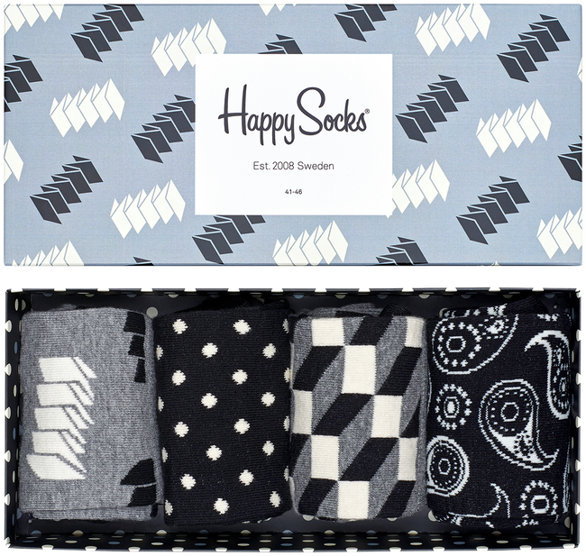 HAPPY SOCKS Chaussettes GIFT PACK en multicolore - large