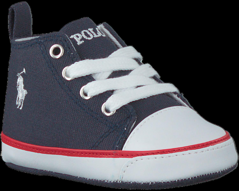 61097b9d92f POLO RALPH LAUREN Chaussures bébé HARBOUR HI LAYETTE en bleu - large. Next