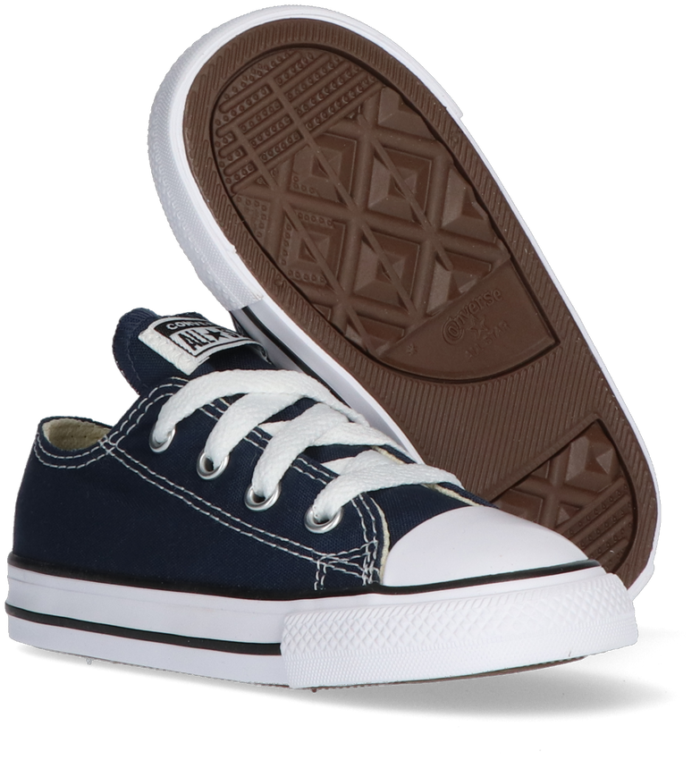 Blauwe CONVERSE Sneakers CHUCK TAYLOR ALL STAR OX KIDS - larger