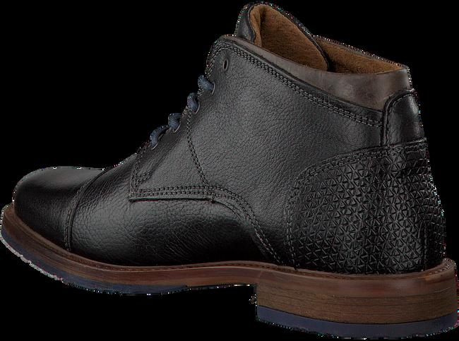 OMODA Chaussures à lacets 89069 en noir - large