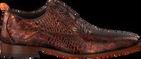 Cognac REHAB Nette schoenen GREG CROCO  - medium