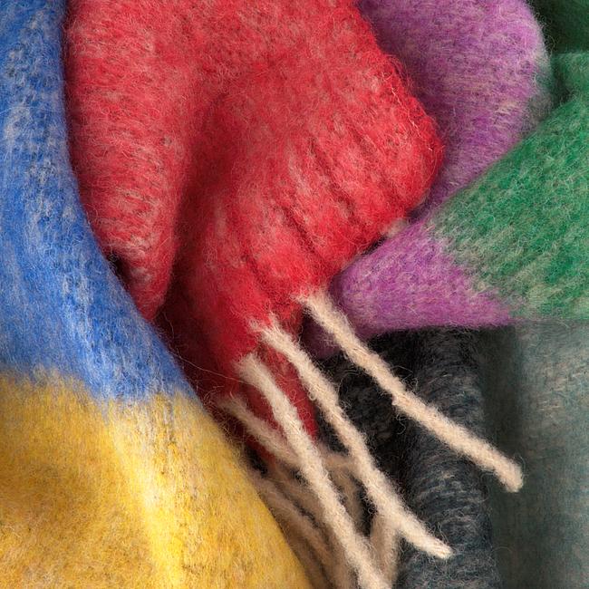 BECKSONDERGAARD Foulard IBBI SCARF en multicolore  - large