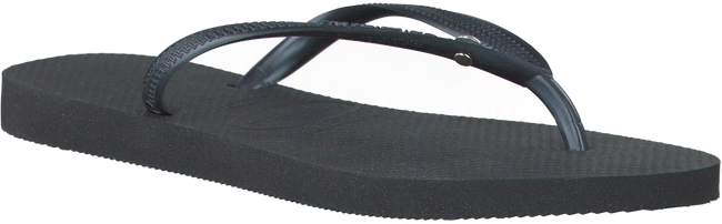 HAVAIANAS Tongs SLIM CRYSTAL GLAMOUR en noir - large