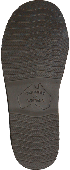 WARMBAT Chaussons CLASSIC UNISEX SUEDE en vert - large