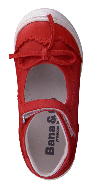 BANA&CO Ballerines 23000 en rouge - large