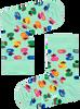 HAPPY SOCKS Chaussettes KIDS RUBBER DUCK SOCK en blanc  - small