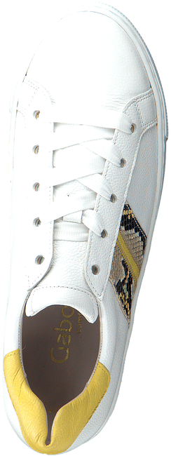 GABOR Baskets basses 495 en blanc  - large
