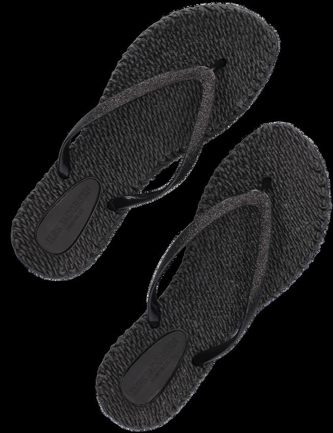 Zwarte ILSE JACOBSEN Slippers CHEERFUL01 - larger