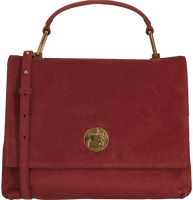 COCCINELLE Sac à main LIYA SUEDE en rouge  - medium