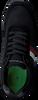TOMMY HILFIGER Baskets basses CORPORATE RUNNER en noir  - small