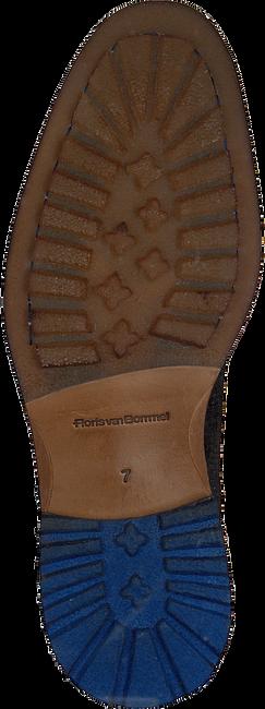 FLORIS VAN BOMMEL Bottines à lacets 10816 en marron  - large