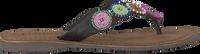 Meerkleurige LAZAMANI Slippers 75.451  - medium