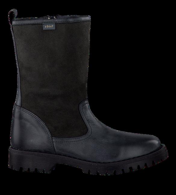 Zwarte CLIC! Lange laarzen CA7610  - large