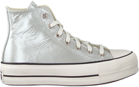 Zilveren CONVERSE Hoge sneaker CHUCK TAYLOR ALL STAR LIFT HI  - medium