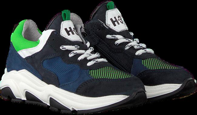 HIP Baskets basses H1264 en bleu  - large