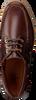 Bruine VAN BOMMEL Veterschoenen 1047  - small