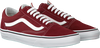 Rode VANS Sneakers OLD SKOOL MEN  - small
