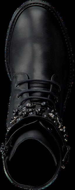 OMODA Bottines à lacets AD426 en noir - large