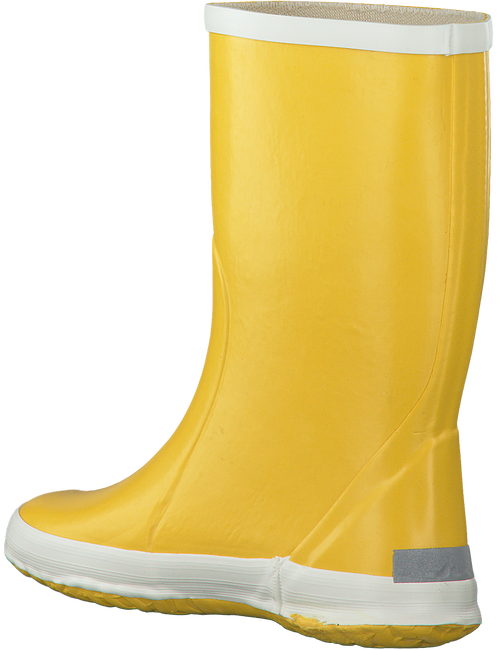 BERGSTEIN Bottes en caoutchouc RAINBOOT en jaune - large